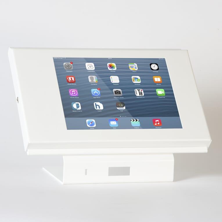 borne iPad comptoir