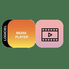 logo media player